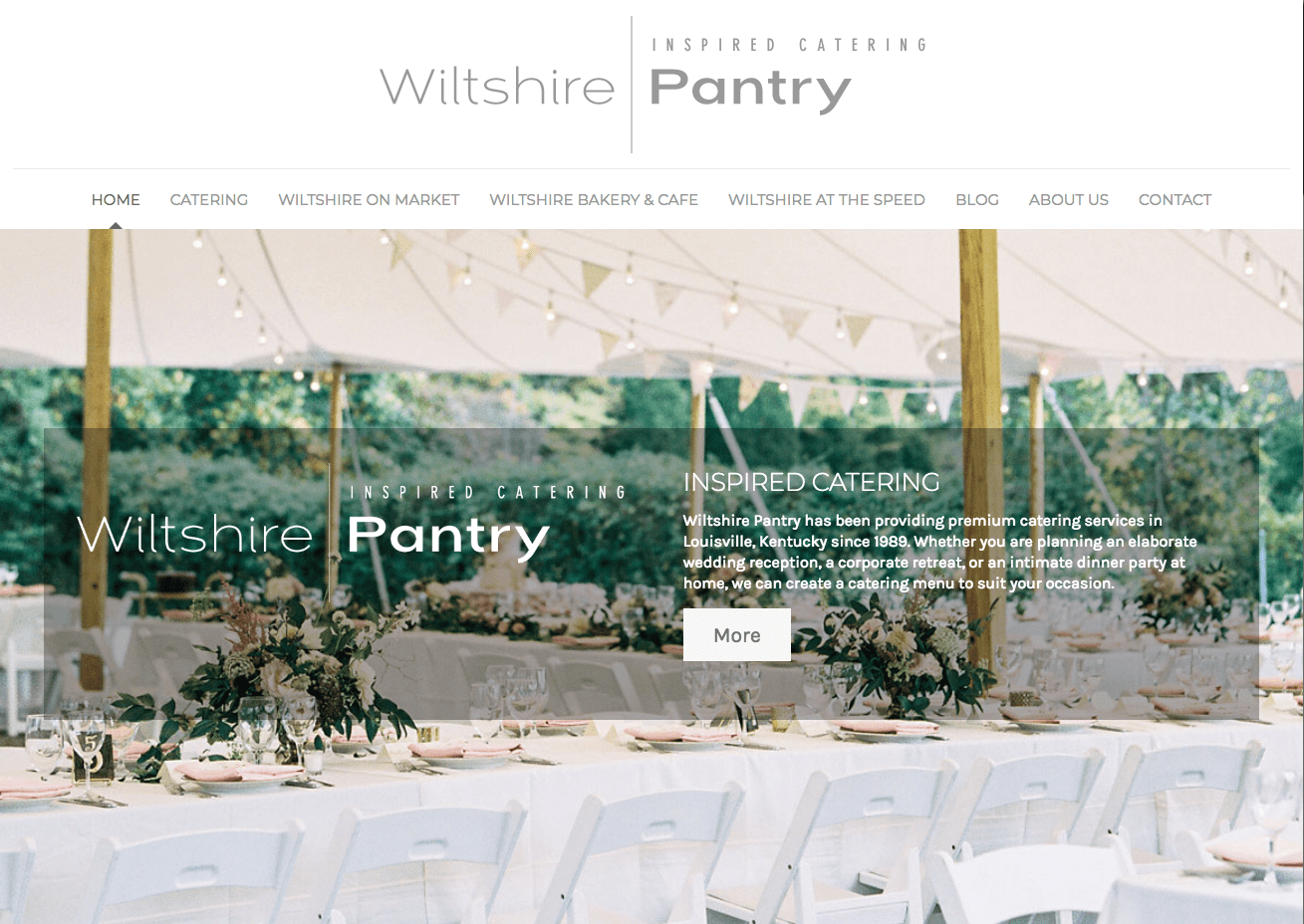 Wiltshire Pantry web site