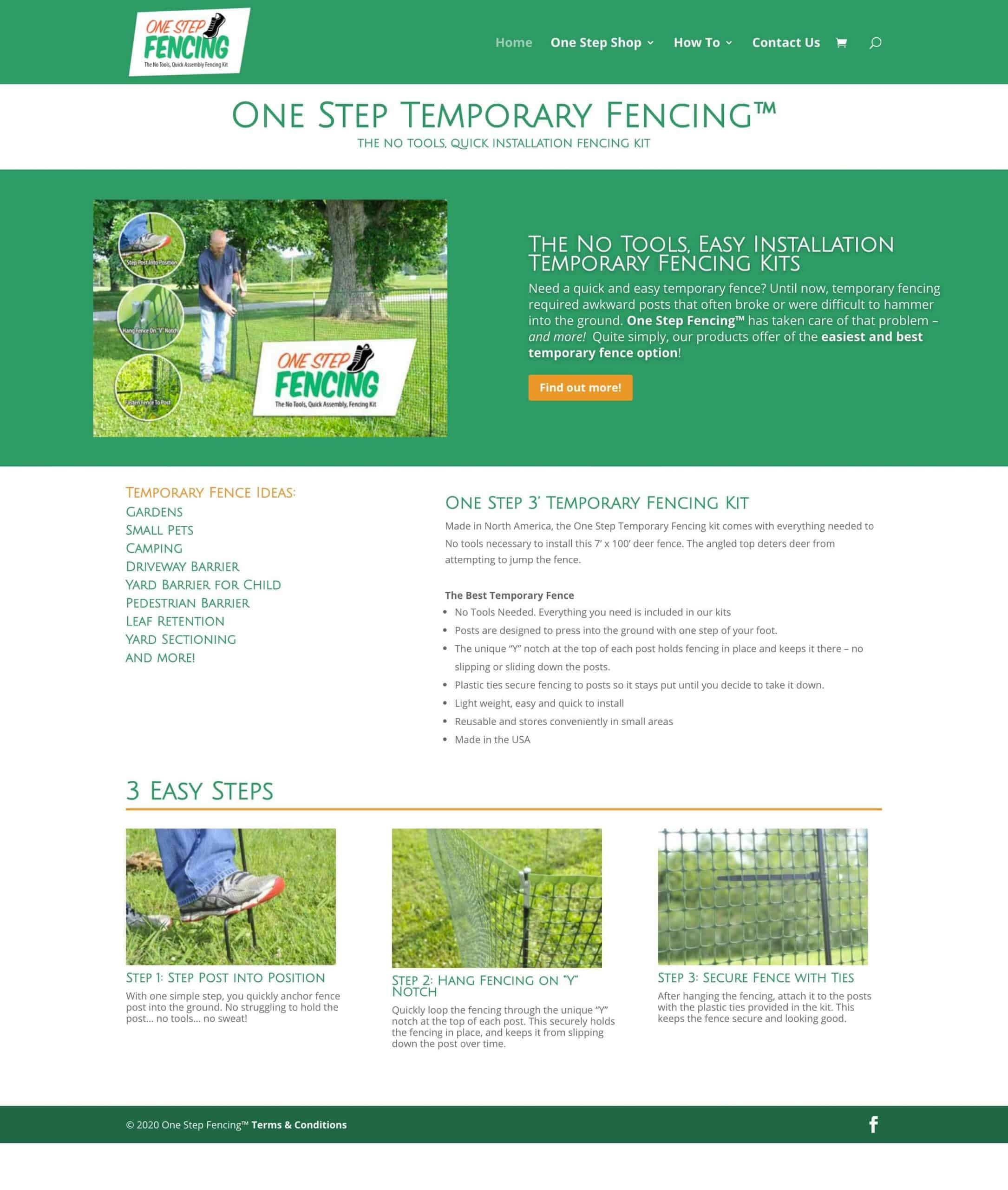 One Step Fencing